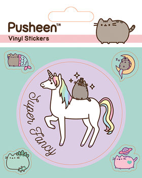 Pusheen - Mythical Autocolant