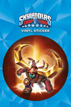Skylanders Trap Team - Headrush Autocolant