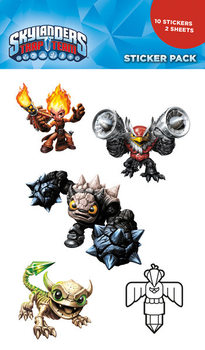 Skylanders Trap Team - Mix Autocolant