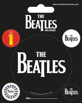 The Beatles - Black Autocolant