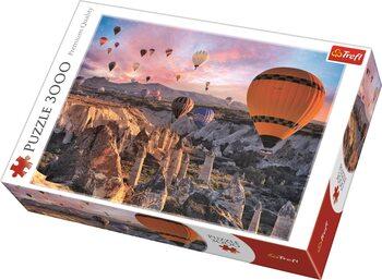 Puzzle Balloons over Cappadocia