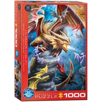 Puzzle Dragon Clan by Ann Stokes