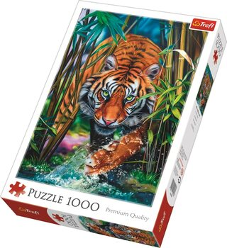 Puzzle Grasping Tiger