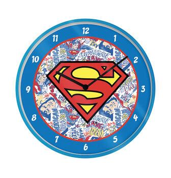 L'horloge Superman - Logo