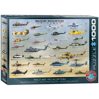 Puzzle Military Helicopters