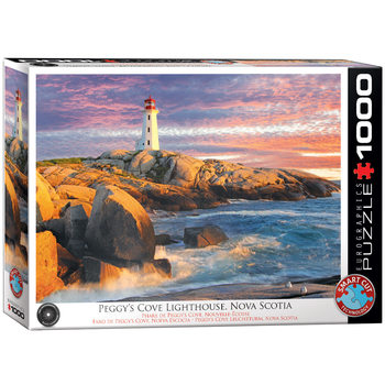 Puzzle Peggy Cove Lighthouse N.Scotia