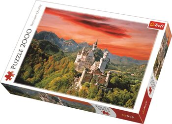 Puzzle The Neuschwanstein Castle, Bavaria