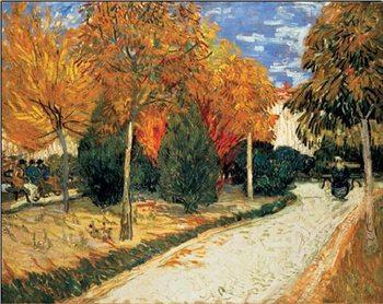 Autumn Garden Festmény reprodukció
