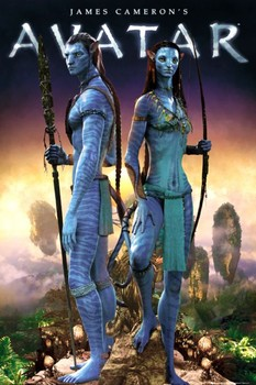 Avatar limited ed. - couple - плакат (poster)