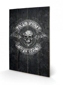 Målning på trä Avenged Sevenfold - Death Bat