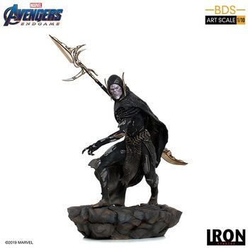 Figurină Avengers: Endgame - Black Order Corvus Glaive