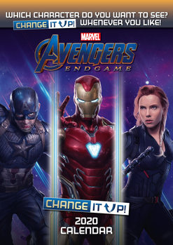 Ημερολόγιο 2020  Avengers: Endgame – Change It Up
