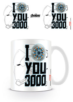 Tazza Avengers: Endgame - I Love You 3000