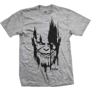 T-Shirt  Avengers - Infinity War Thanos Head Black