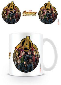 Kubki Avengers Wojna bez granic - Icon Of Heroes