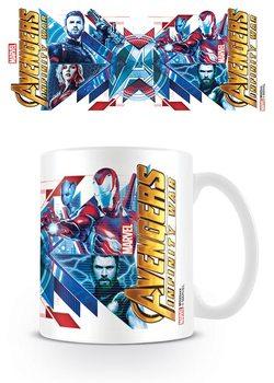 Kubek Avengers Wojna bez granic - Red Blue Assemble