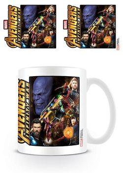 Kubki Avengers Wojna bez granic - Space Montage