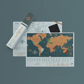 Stieracia mapa Backpacker Edition