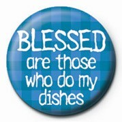 BLESSED ARE THOSE WHO DO M Badge