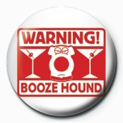 Family Guy (Booze Hound) Badge