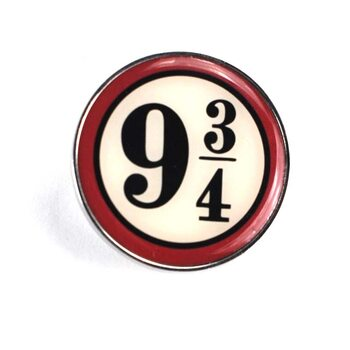 Badge Harry Potter - Platform 9 3/4