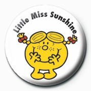 MR MEN (Little Miss Sunshi Badge