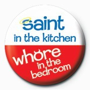 SAINT IN THE KITCHEN& Badge