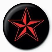 STAR (RED & BLACK) Badge