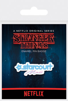 Badge Stranger Things - Starcourt Mall
