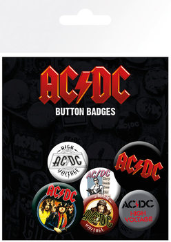 AC/DC - Mix Badges pakke