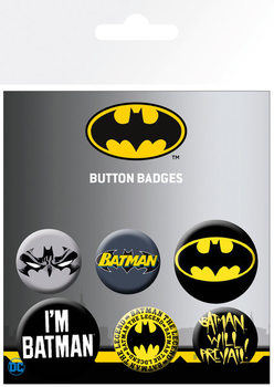 Batman - Comics Badges pakke