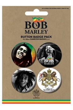 BOB MARLEY - photos Badges pakke