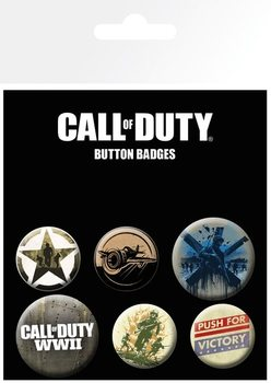 Call Of Duty - mix Badges pakke