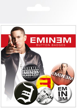 EMINEM Badges pakke