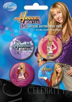 HANNAH MONTANA Badges pakke