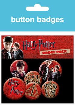 HARRY POTTER Badges pakke