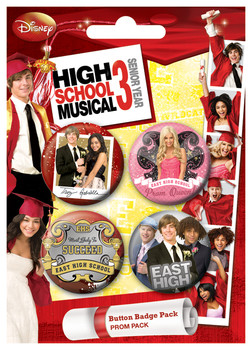 HSM3 - Prom Badges pakke