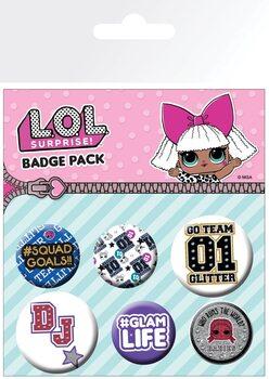 L.O.L. Surprise - Mix Badges pakke