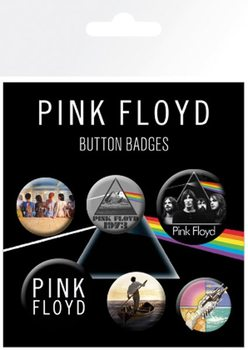 Pink Floyd - Mix Badges pakke