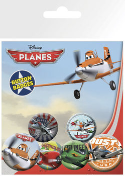 PLANES Badges pakke