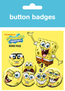 SPONGEBOB Badges pakke
