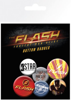 The Flash - Mix Badges pakke