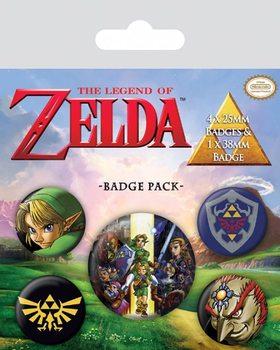 The Legend Of Zelda Badges pakke