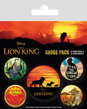 The Lion King - Life of a King Badges pakke
