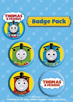 THOMAS Y SUS AMIGOS Badges pakke