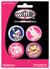 WITHIT Badges pakke