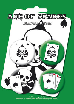 Badge ACE OF SPADES