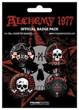 Badge ALCHEMY - La mort