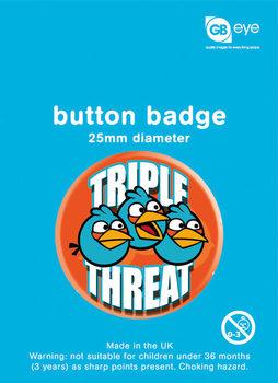 ANGRY BIRDS - Triple Threat Badge