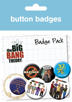 BIG BANG THEORY Badges